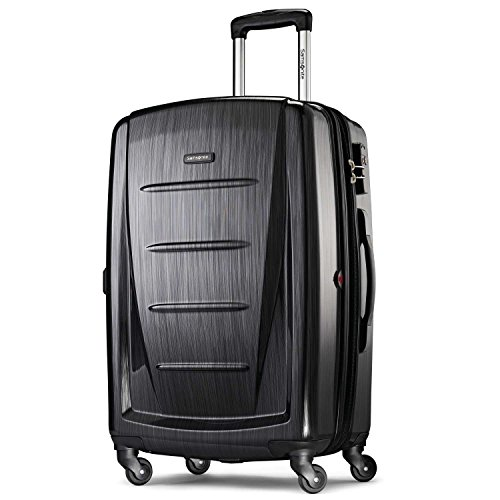 Samsonite Checked-Large, Brushed Anthracite - Linear Hard Box
