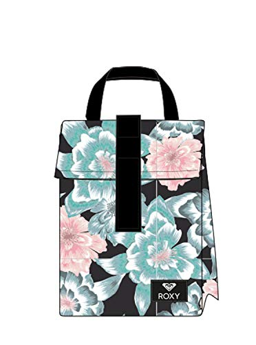 Roxy Junior's Hour Lunch Sack, anthracite sample crystal flower, ()