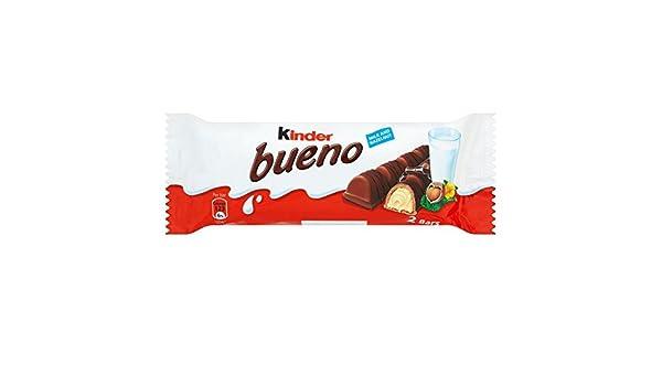 Kinder Bueno oblea de chocolate (43g x 30 x 1 pack size): Amazon ...