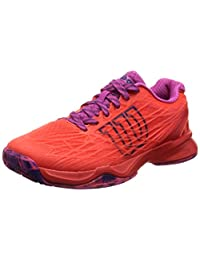 Wilson Kaos Coral/Red/Violet Women's Tennis Shoes