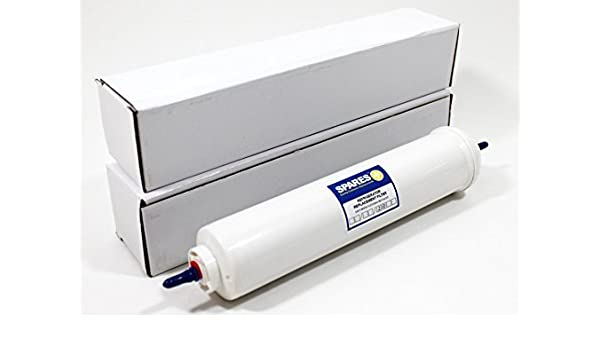 2 filtros de agua universales para DAEWOO, SAMSUNG, LG, BEKO ...