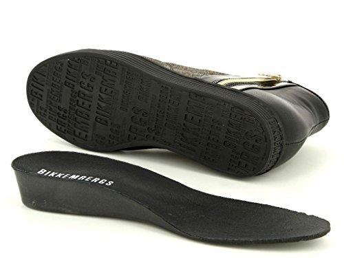 Bikkembergs Words BKW101119 Damen Boots & Stiefeletten in Mittel Schwarz