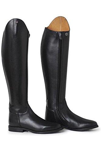 Scarpe Da Equitazione Lunghe Da Equitazione Donna Serenata Nero Scarpe Da Bambino Dimensione Del Polpaccio - Normale / Extra, Taglia - 37