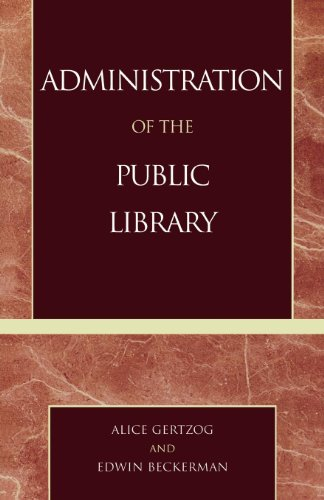 Download Administration of the Public Library Pdf
