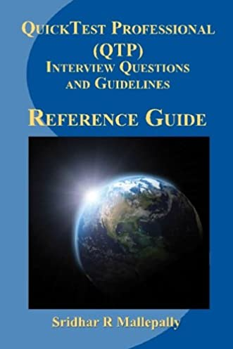 quicktest professional qtp interview questions and guidelines a rh amazon com Quick Reference Guide Clip Art Quick Reference Guide Clip Art