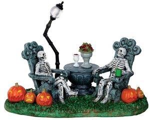 Lemax Spooky Town Collection Statue Mausoleum Vacancy