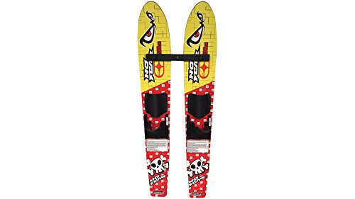 No Fear Grom Trainer Waterskis Water Skis,