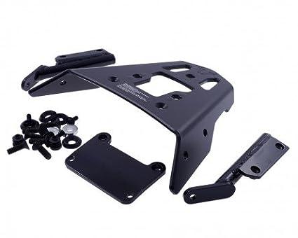 Porte-bagages en aluminium rack, noir, Triumph Sprint St 1050, 05– 10, 215 NA 05-10 215NA PW
