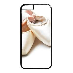 "Ballet Shoes Theme Case for iPhone 6 Plus (5.5"") PC Material Black"