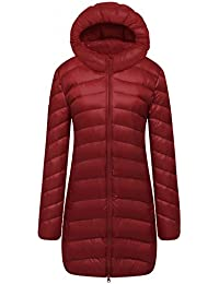 Cloudy Arch Women's Ultra Light Down Packable Hooded Coat