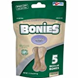 Pet Health Solutions BONIES Natural Calming Multi-Pack LARGE for Dogs 25 LBS or More – Natural Dog Treat – Low Calories – Chicken Flavor – 5 Bones