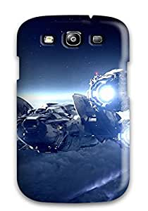 Alex D. Ulrich Galaxy S3 Hybrid Tpu Case Cover Silicon Bumper Prometheus Space Ship Ridley Scotts People Movie