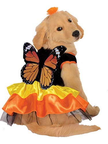 Monarch Butterfly Pet Costume - Small -