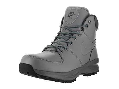 Boot Manoa Black Grey Cool Hiking NIKE Leather Men's q815wx4I