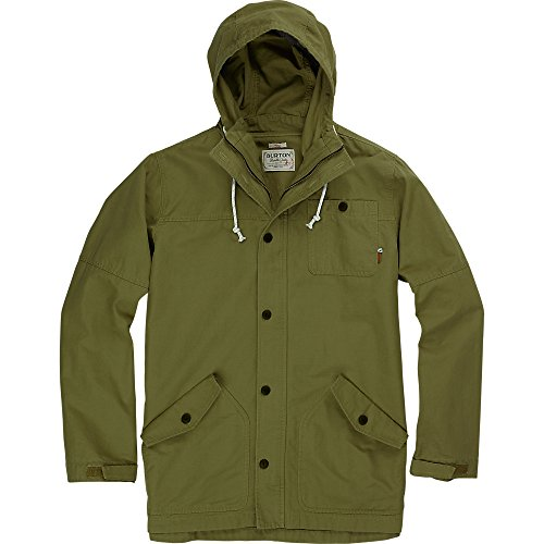 Mens Burton Jacket Lightweight Fleece (Burton Men's Marin Jacket, Small, Cigar)