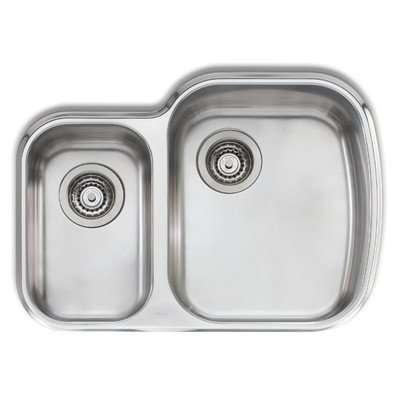 Adelaide 2763 x 1975 Compact Double Bowl Kitchen Sink