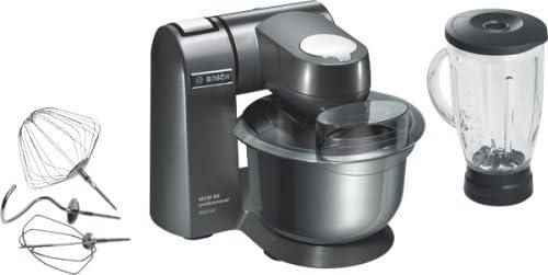 Bosch MUM86A1 - Robot de cocina profesional, con bol para mezclas de 5,4 litros y accesorio batidor de cristal (1600 W): Amazon.es: Hogar