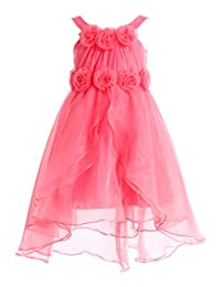 FAIRY COUPLE Girl's A-line Short Junior Bridesmaid Flower Girl Party Dress K0114