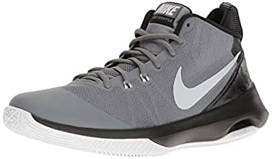 NIKE New Men's Air Versitile Basketball Shoe Cool Grey/Black 7.5