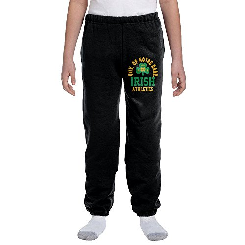 Kids Notre Dame Fighting Irish ND Teams Logo (Notre Dame Irish Workout Pants)