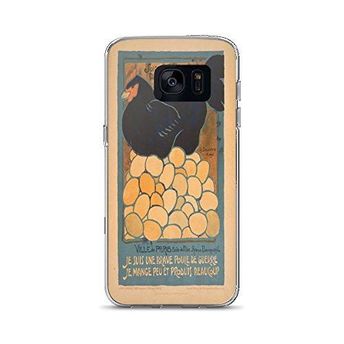 Vintage poster - I am a Fine War Hen 0670 - Samsung Galaxy S7 Phone Case ()