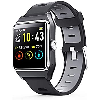 Amazon.com: FITVII GPS Smartwatch with 17 Sports Mode ...