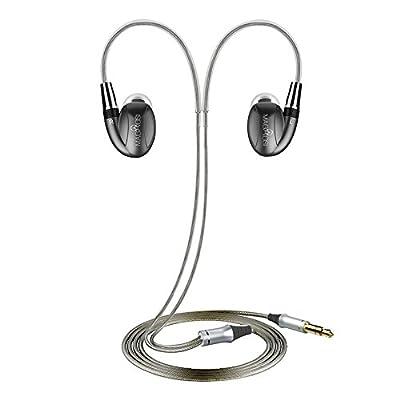 MaGaosi K3 Pro In Ear Earphone 2BA+1DD 3Units HIFI Earphone with MMCX Interface(Brown)
