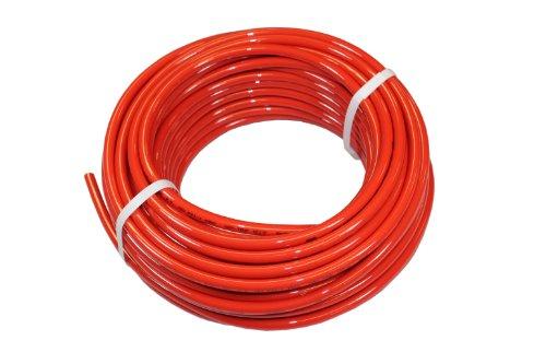 ATP Surethane Polyurethane Plastic Tubing, Red, 3/32