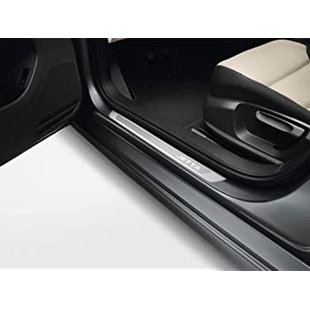 Genuine OEM Stainless Steel Door Sill Guards for the 2011-2016 Jetta MK6 and the 2013-16 Jetta MK6 Hybrid  sc 1 st  Amazon.com & Amazon.com: VOLKSWAGEN VW JETTA CHROME DOOR SILLS STAINLESS STEEL ...