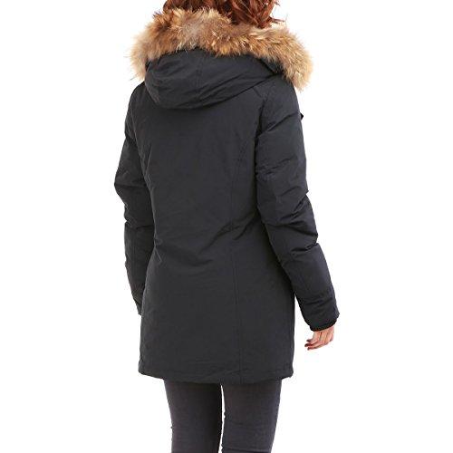 Modeuse La Para Mujer Abrigo Negro dqq4XCBw