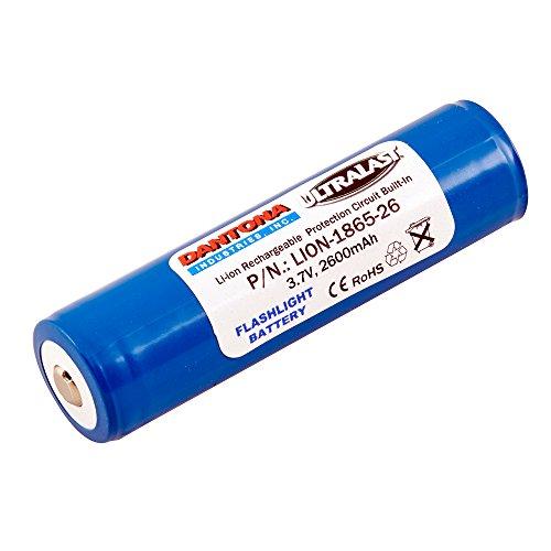 Dantona Single Cells, Lithium Ion PacksLION-1865-26 Lithium, Lithium Ion (ICR/CGR/LIR) 3.7 Volts Battery