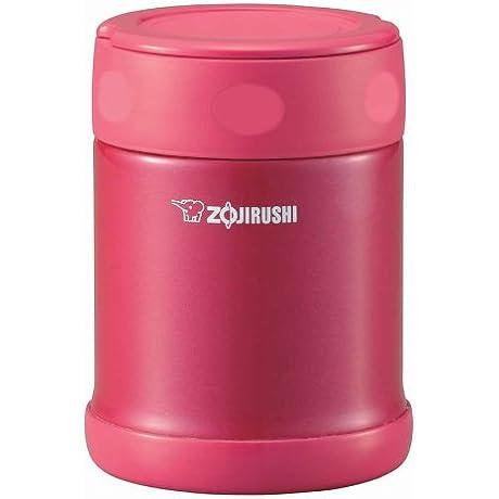 ZOJIRUSHI Stainless Food Jar Candy Pink 350ml SW EB35 PJ By SmileMore