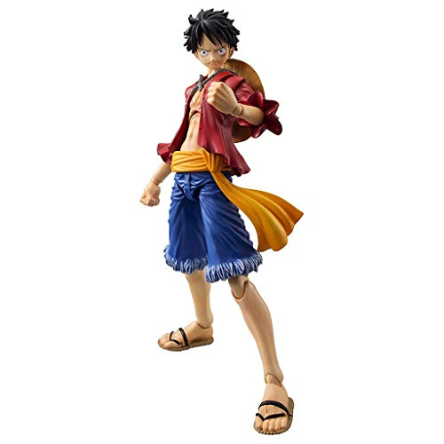 Siyushop One Piece: Monkey D Luffy Variable Action Hero Figure - High 7 Inches (Variable Action Heroes Roronoa Zoro Action Figure)