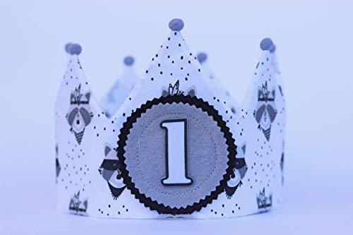 Corona de tela para cumpleaños bebé regalo primer cumple ...