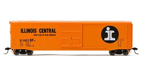 Ho Train Car (Rivarossi #11023 Illinois Central Railroad Box Car with Sliding Door (HO Scale))