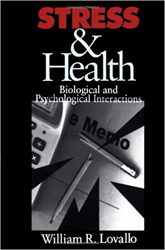 Read Stress & Health: Biological and Psychological Interactions PDF, azw (Kindle), ePub