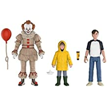 Funko Action Figures: IT Pennywise, Georgie, and Bill (3-Pack)