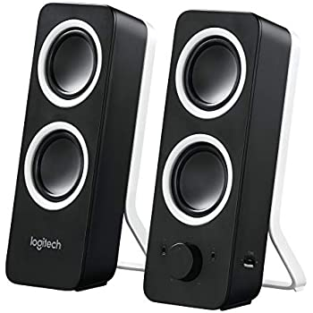 Logitech Multimedia Speakers Z200 with Stereo Sound for Multiple Devices -  Black 315555fdfc4e5