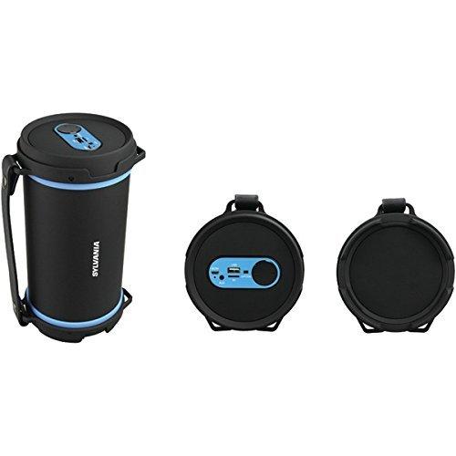Sylvania SP807 BLUE Bluetooth Rugged Speaker