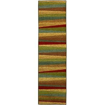 Amazon Com Mohawk Home New Wave Rainbow Printed Rug 2 X8