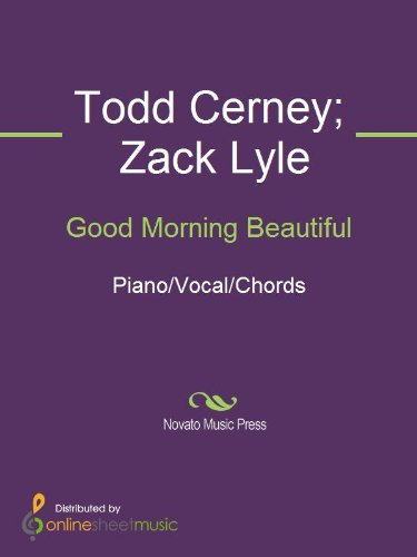 Good Morning Beautiful By Cerney Todd