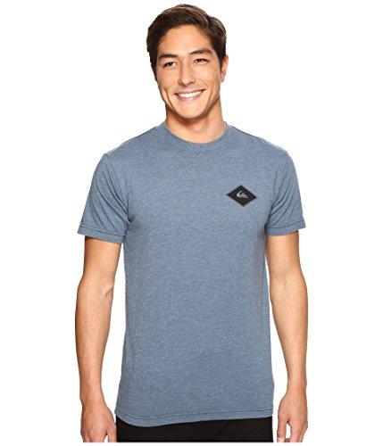 Quiksilver Men's Diamond Days Tee Indian Teal Heather T-Shirt (Quiksilver Diamond)