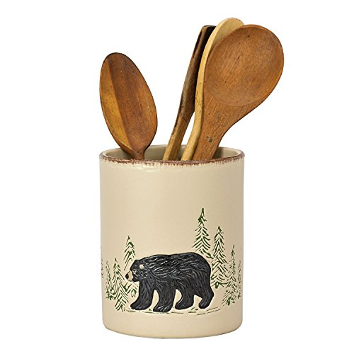 Park Designs Rustic Retreat Utensil Crock # 493-699