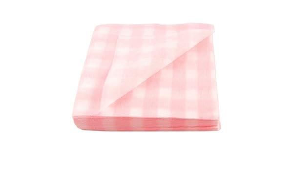 Amazon.com: eDealMax 80 piezas desechables Blanco Rosa patrón de prueba de la planta de la Tela de toalla Facial: Health & Personal Care