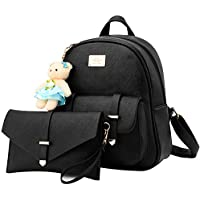 Women Backpack Purse for Girls School Bags Quilted Casual Small Purse, PU Leather Crossbody Bag Fashion Travel Bag