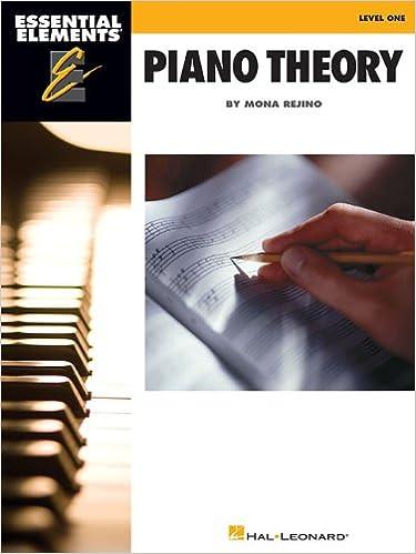 Essential Elements Piano Theory - Level 1: Mona Rejino