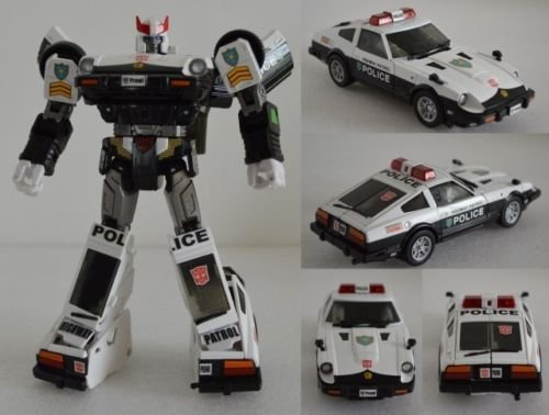 [HASBRO TRANSFORMERS DETAILS STICKER SET FOR MP17 Prowl Police NEW] (Arcee Prime Costume)