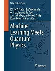 Machine Learning Meets Quantum Physics (Volume 968)