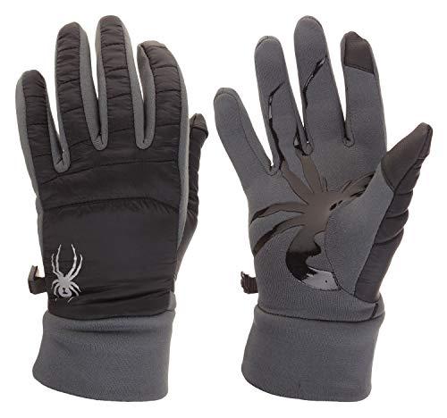 Spyder Men's Stealth Glove W/Power Stretch Black M