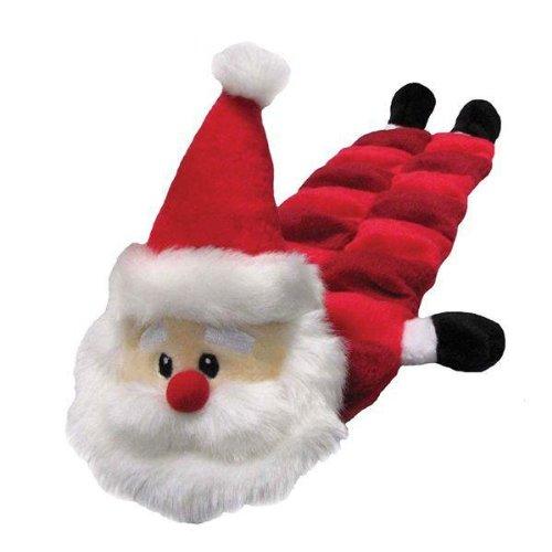 Kyjen Holiday Long Body Squeaker Mat – Santa, My Pet Supplies